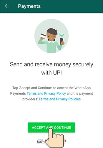 WhatsApp Pay in Hindi