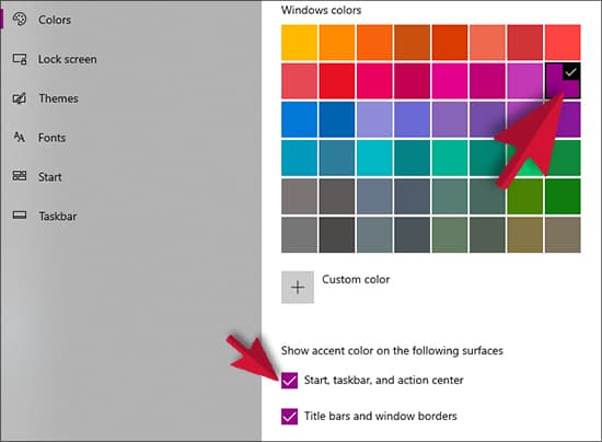 How to Choose a Custom Color for Your Start Menu