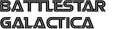 Battlestar Galactica -Techno and Sci-Fi Fonts Free Download