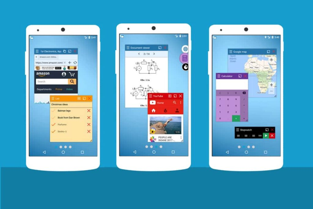 Floating Apps for Android Multitasking