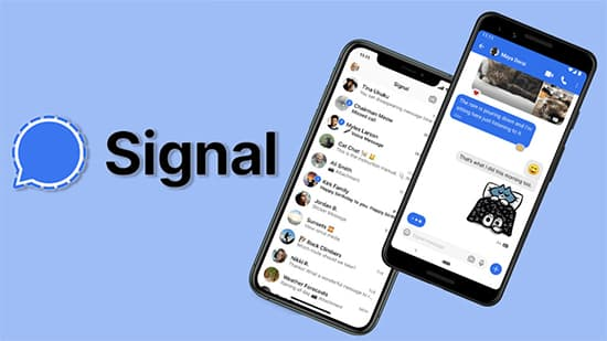 -Signal - Best Free WhatsApp Alternatives in Hindi
