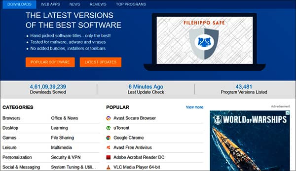 FileHippo - Free Software Download Sites for Windows in Hindi