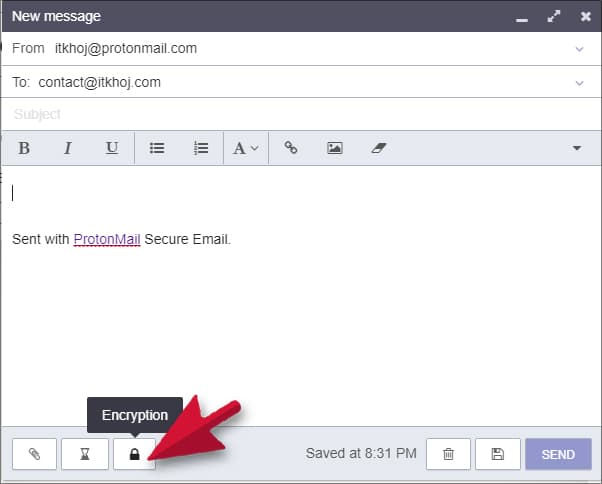 Password Protected Email Kaise Bheje