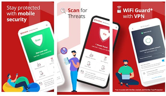McAfee - Best Antivirus for Android in Hindi