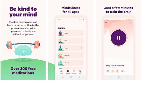 Smiling Mind - Best Free Meditation Apps in Hindi